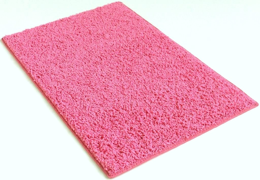 COLORFUL COLLEGE CARPET RUGS (Rectangle & Runners) - 1'' Pile HeightCozy Under Foot (Bubble Gum Pink, 4'X8')