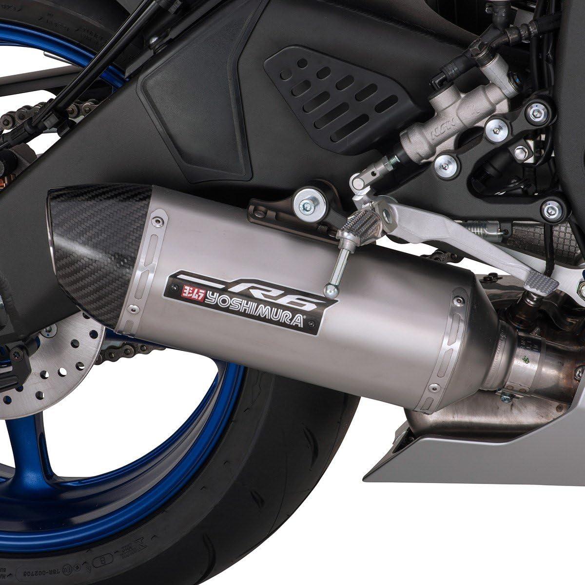 2009-2020 Genuine Yamaha YZF-R6 Yoshimura Y-Series Slip-On Muffler BN6E47A0V000