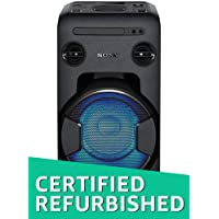 (Renewed) Sony Portable MHC-V11 High-Power Compact Audio System (Black)