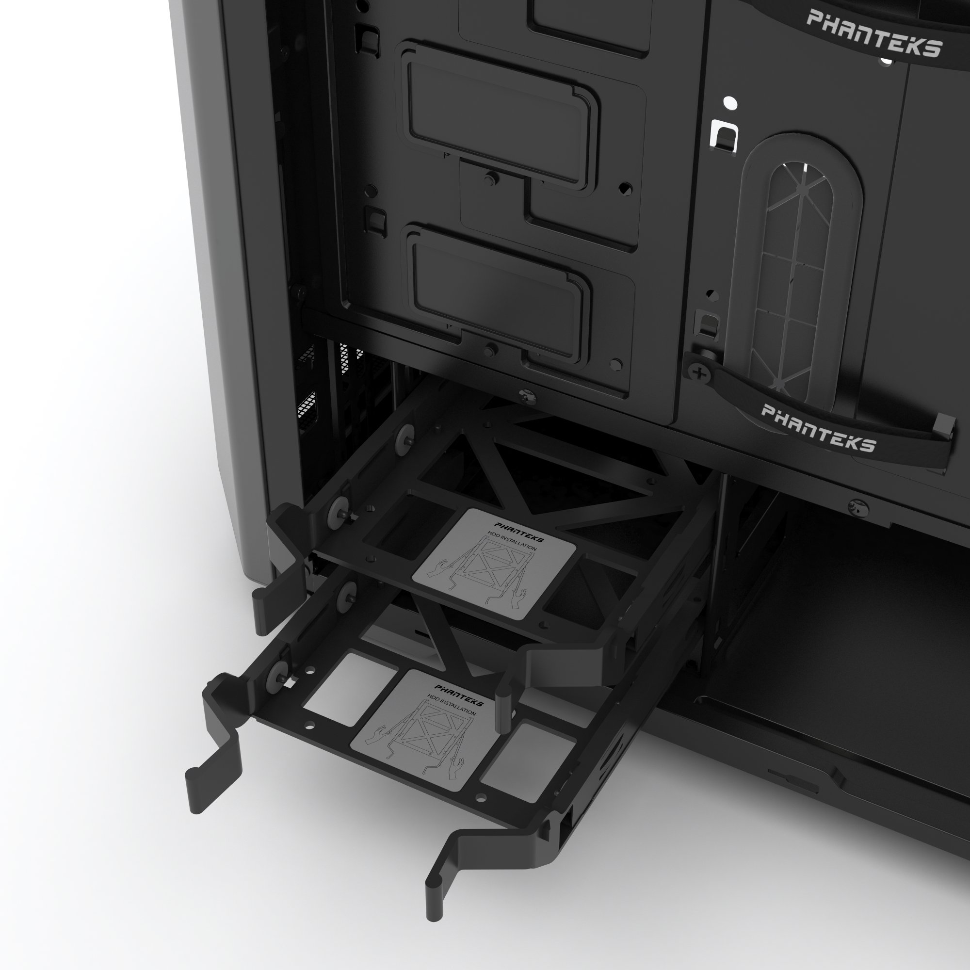 Phanteks PH-EC416PSTG_AG Eclipse P400S Silent Edition with Tempered Glass, Anthracite Grey Cases by Phanteks (Image #15)