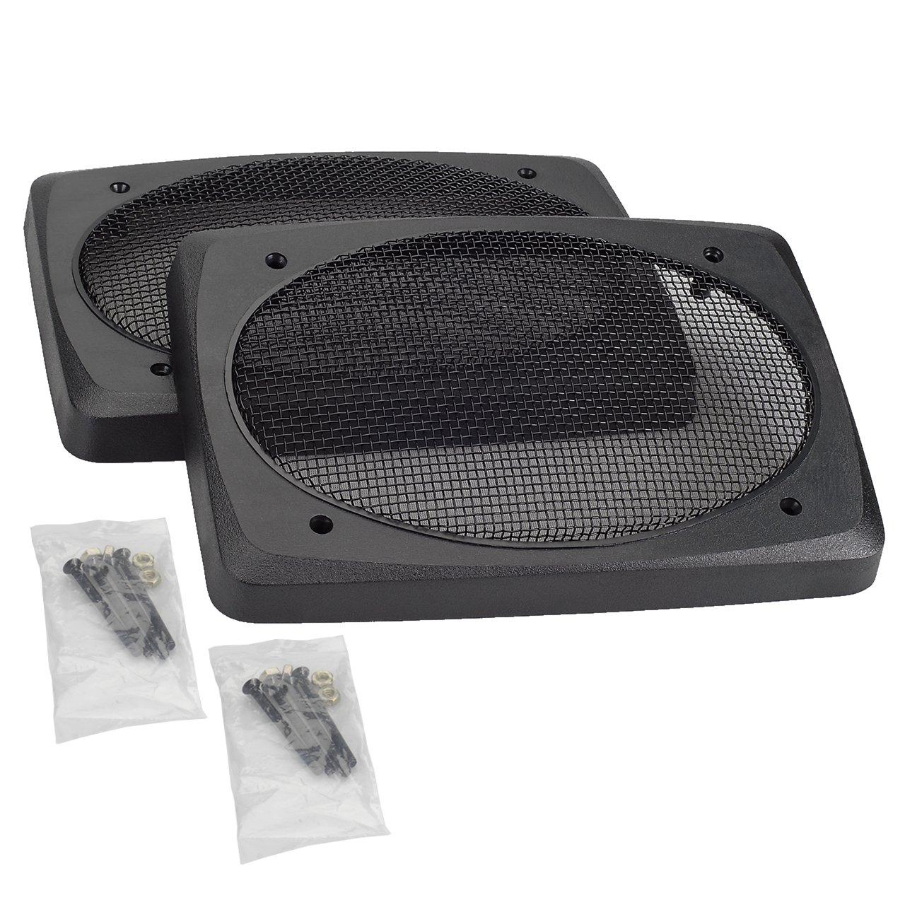 Magnadyne 6'' x 9'' speaker Grills with Black Wire Mesh G69D