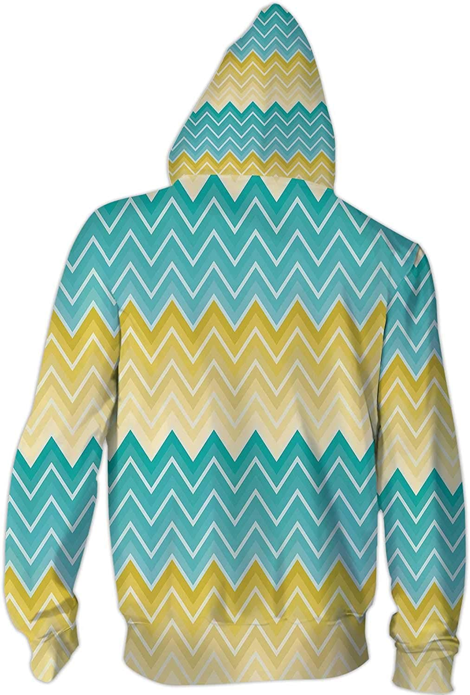 tricolored Parrot-Tulip,Ladies Full Zip Fleece with Pocket Spring Awakening Design S
