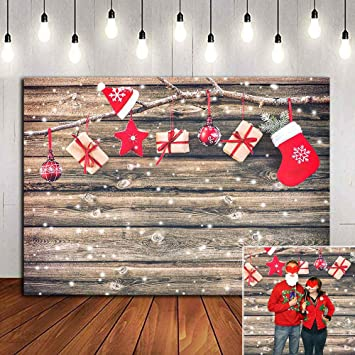 FSMY 5x7ft Christmas Party Decorations Photography Backdrop,Customized Portrait Photo Background Banner for Studio Booth Decorations Props Color 4