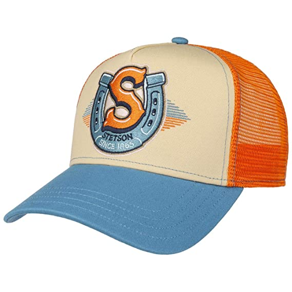 STETSON Western Trucker Cap Truckercap Meshcap Basecap Baseballcap
