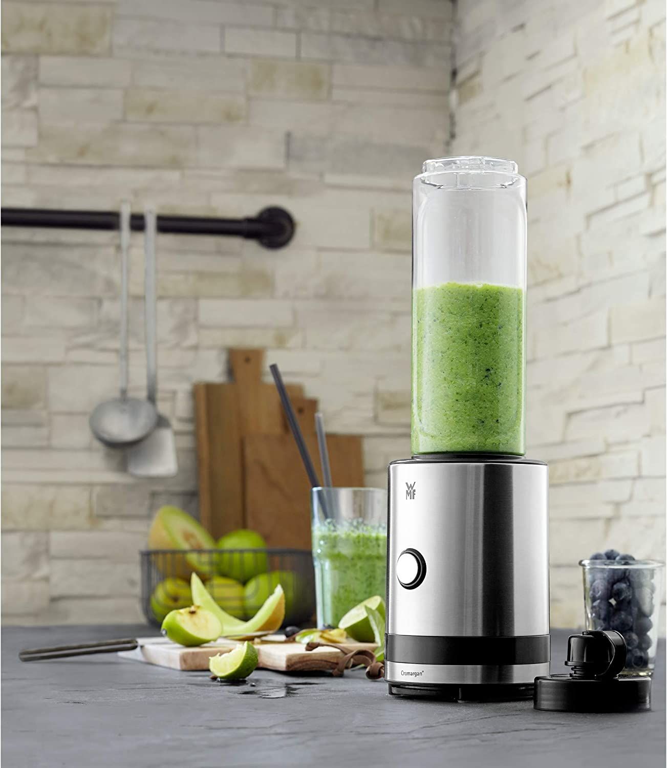 WMF Kitchenminis Batidora de Vaso Smoothie-to-go, 300 W, 0.6 ...