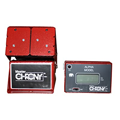 Shooting Chrony Alpha Master Chronograph (red)