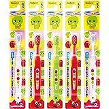 惠百施 GACHAPIN儿童牙刷超软 5支装 B-6161(颜色随机)(进口)