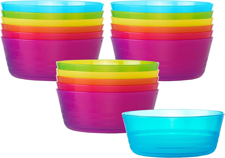 IKEA Kalas Bowls Assoted Colors 6
