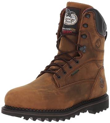 06abf2f80bc6 Amazon.com  Georgia Boot Arctic Toe Waterproof Insulated Work Boot ...