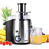 Centrifugal Juicer Machine - Juice Maker Extractor,Juice Processor Fruit and Vegetable,Easy to Clean Stainless Steel…