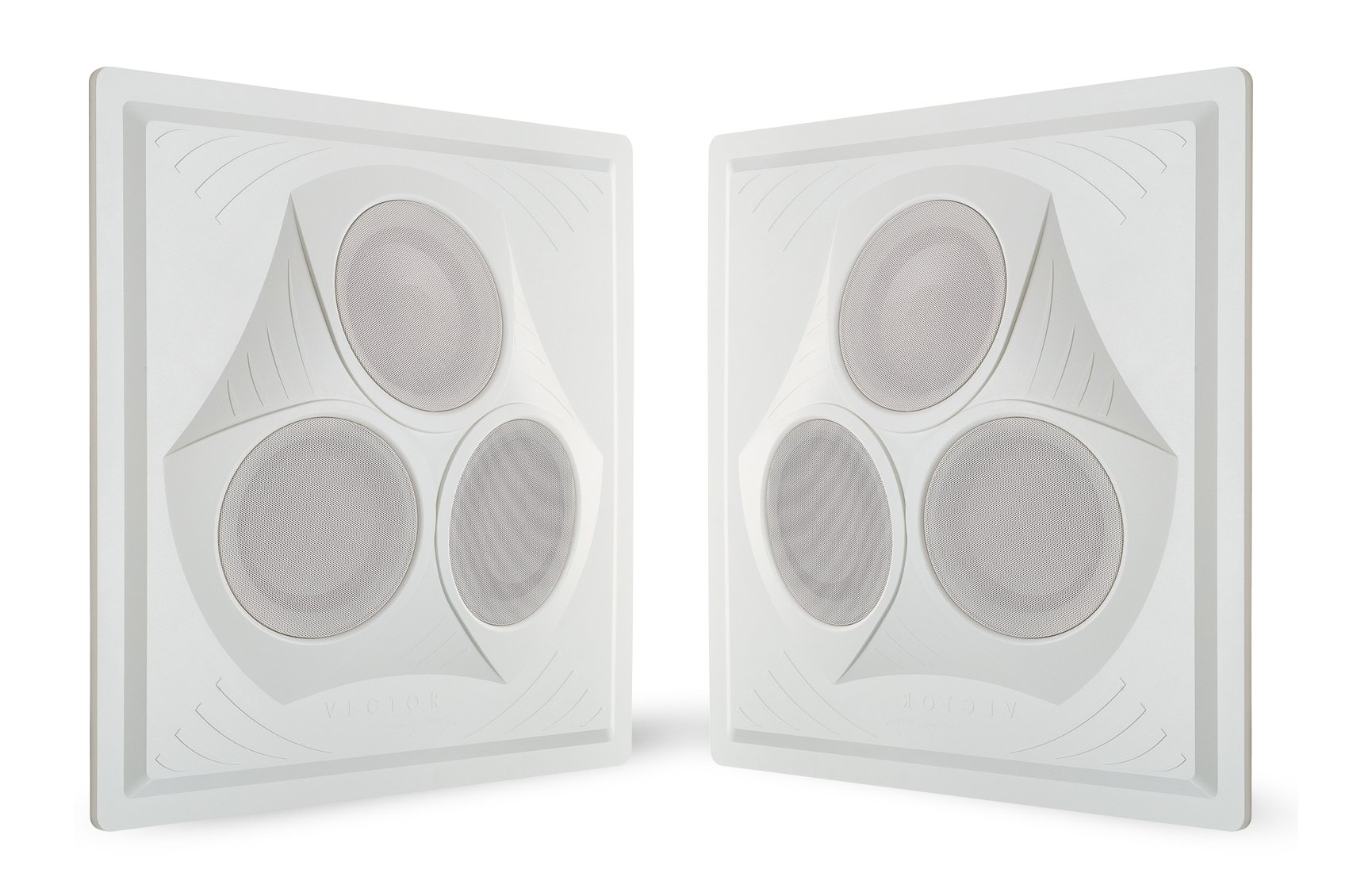 Pure Resonance Audio VCA8 - Vector Ceiling Speaker Array 120 Watts 8 Ohm (2 Speakers)