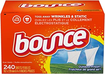 240-Count Bounce Outdoor Fresh Fabric Softener Dryer Sheets