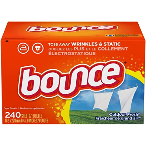 Bounce Outdoor Fresh Fabric Softener Sheets 240 Count by Bounce