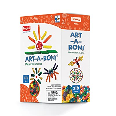 Roylco Colored Assorted Noodles, 1 Lb. Box : Childrens Art Supply Sets : Office Products