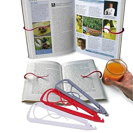 BALANCEYG - Ganchos para sujetar libros (diseño informal)