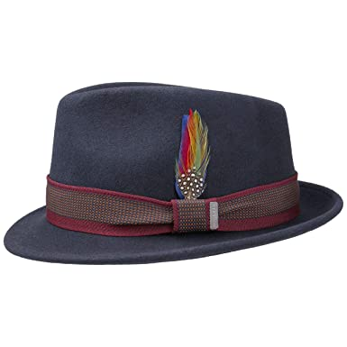 9b6aabe2a Stetson Tarsell Wool Felt Trilby Men | at Amazon Men's Clothing store: