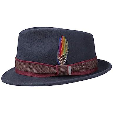 Stetson Cappello Tarsell Trilby Feltro Fedora Outdoor  Amazon.it   Abbigliamento c579f04b8e82