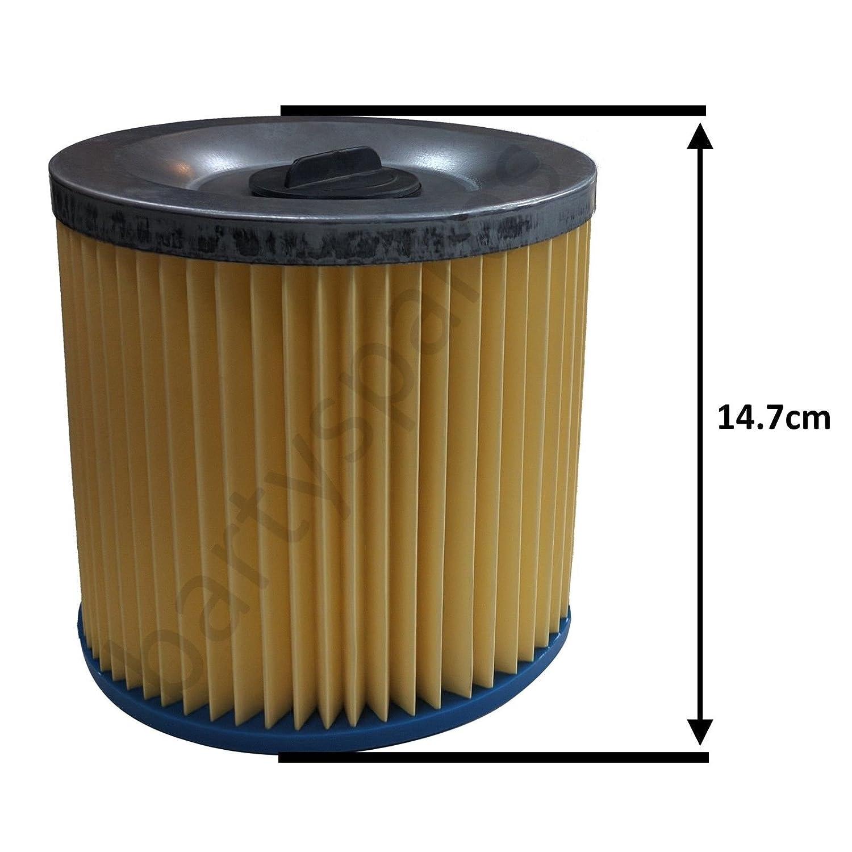 Bartyspares/® 2/filtres pliss/é Laser Goblin Aquavac Pro 100/200/300/300/C pour aspirateur