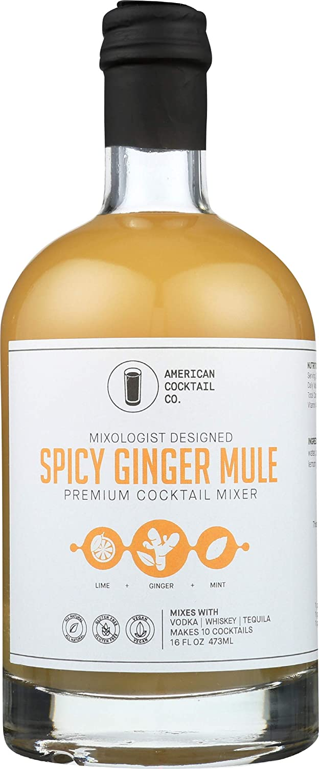 American Cocktail Company, Mixer Spicy Ginger Mule, 16 Fl Oz