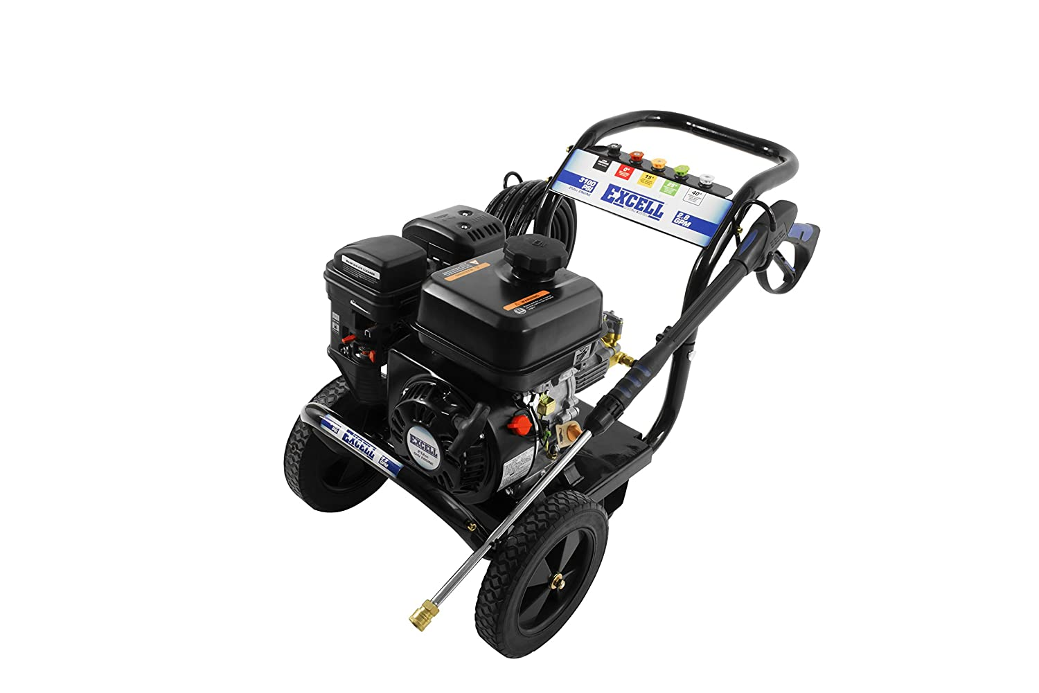 Amazon.com : excell EPW2123100 3100 PSI 2.8 GPM Cold Water 212CC Gas  Powered Pressure Washer : Garden & Outdoor