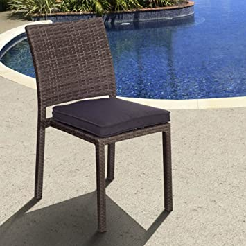 amazon com atlantic liberty all weather wicker patio dining side rh amazon com