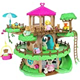Lil Woodzeez Family Treehouse 22-Piece Playset – Can Be Used With All Families, Furniture, and Accessories – Ages 3+