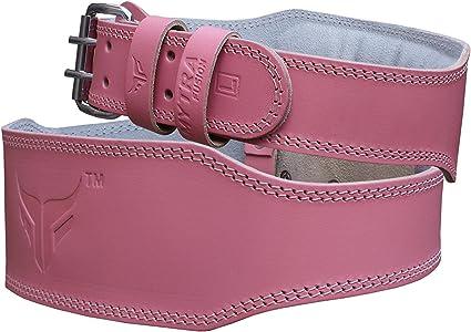 Womens Pink Deadlift Weighlifting Belt