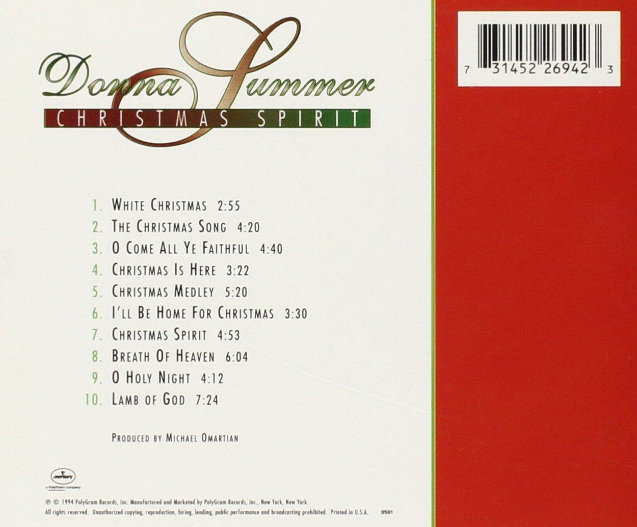 Christmas Spirit: Donna Summer: Amazon.ca: Music