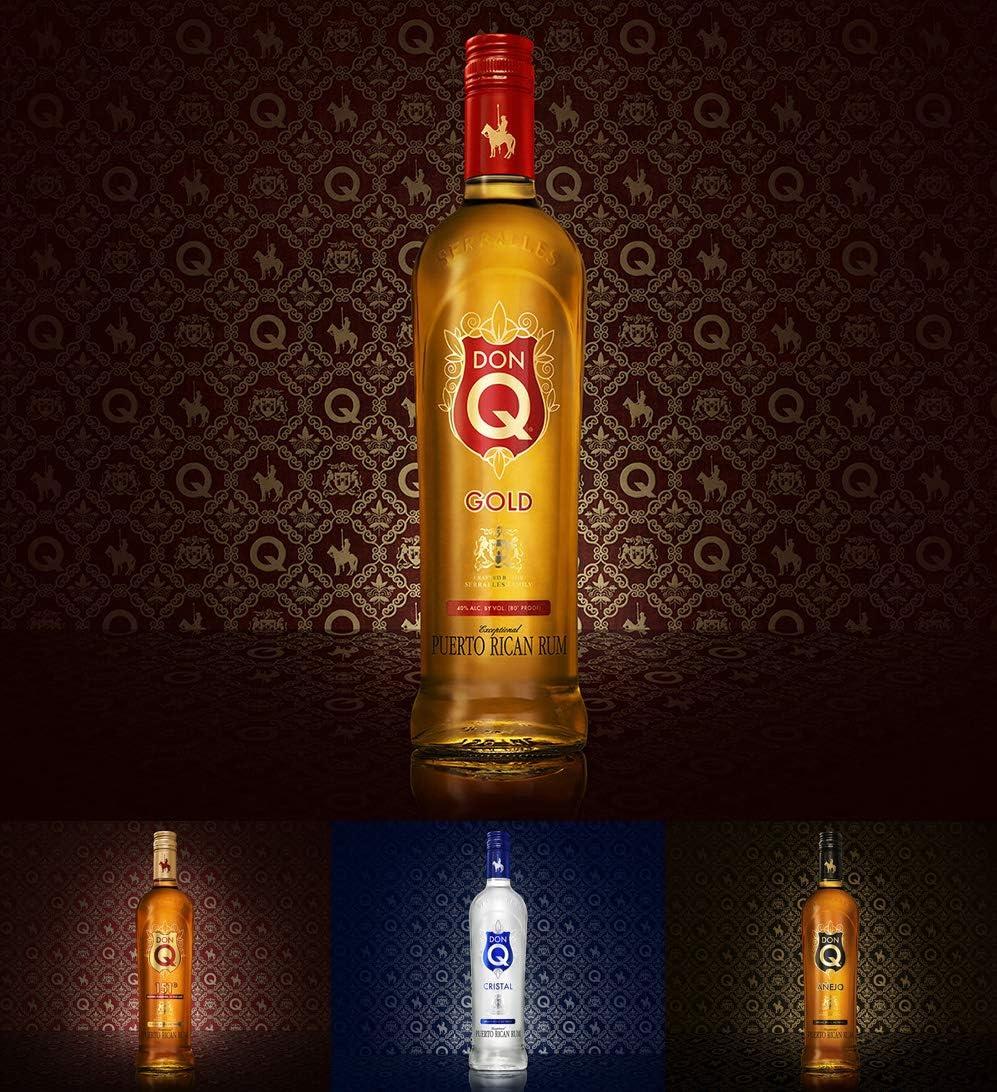 Don Q Gold Puerto Rican Premium Ron - 700 ml