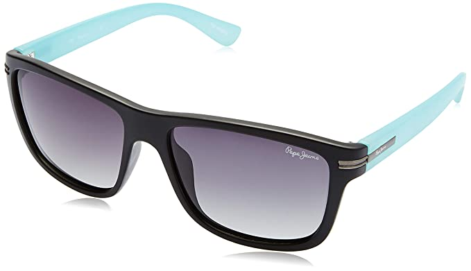04522496d4 Image Unavailable. Image not available for. Colour  Pepe Jeans Polarized  Wayfarer Unisex Sunglasses ...
