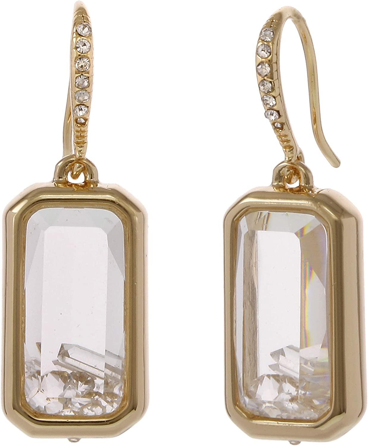 Laundry by Shelli Segal Faceted Shaker Stone Drop Earring