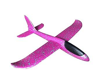 c290fea49276b6 飛行機 おもちゃ 手投げグライダー モデル 慣性で飛び 回転飛行 軽量 ソフト 発泡製 指先