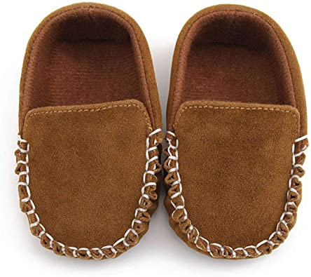 Newborn Baby Boy Girl Shoes First Walkers Moccasin PU Leather Prewalkers for Kid