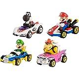 Hot Wheels Mario Kart Characters and Karts as Die-Cast Cars