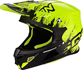 Scorpion Casco Moto VX-21 Air mudirt, Black/Neon Yellow, ...