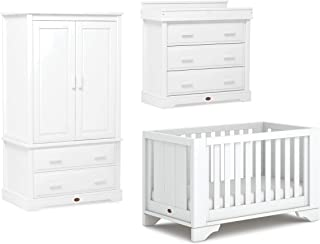 Boori Eton Expandable Room Set, White, 3-Piece