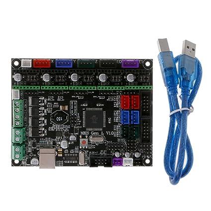 Cutebility MKS Gen L V1.0 - Placa Base para Impresora 3D: Amazon ...