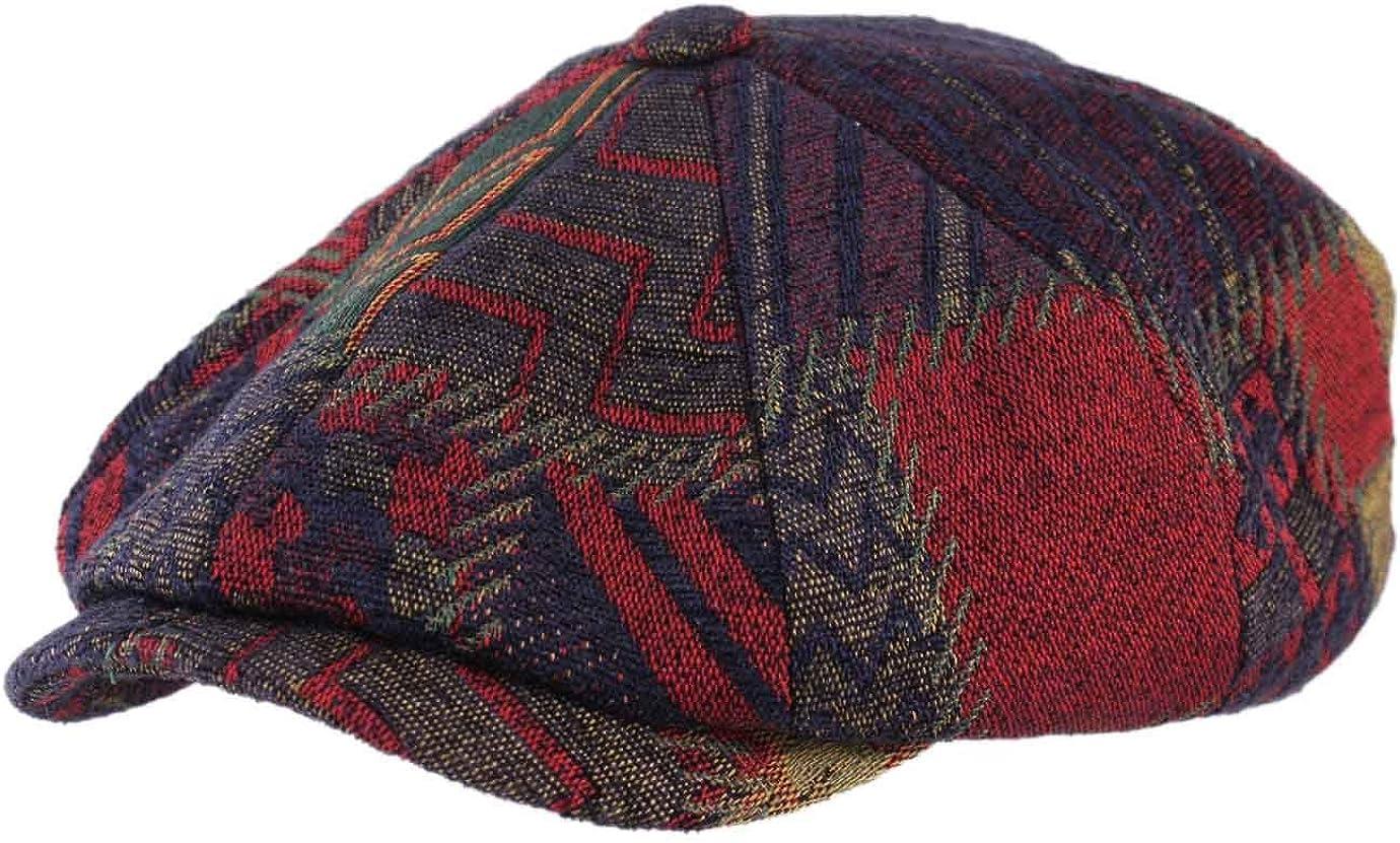 Stetson - Boinas - Gorra Plana Hombre 8-Panel Upholstery - Talla ...