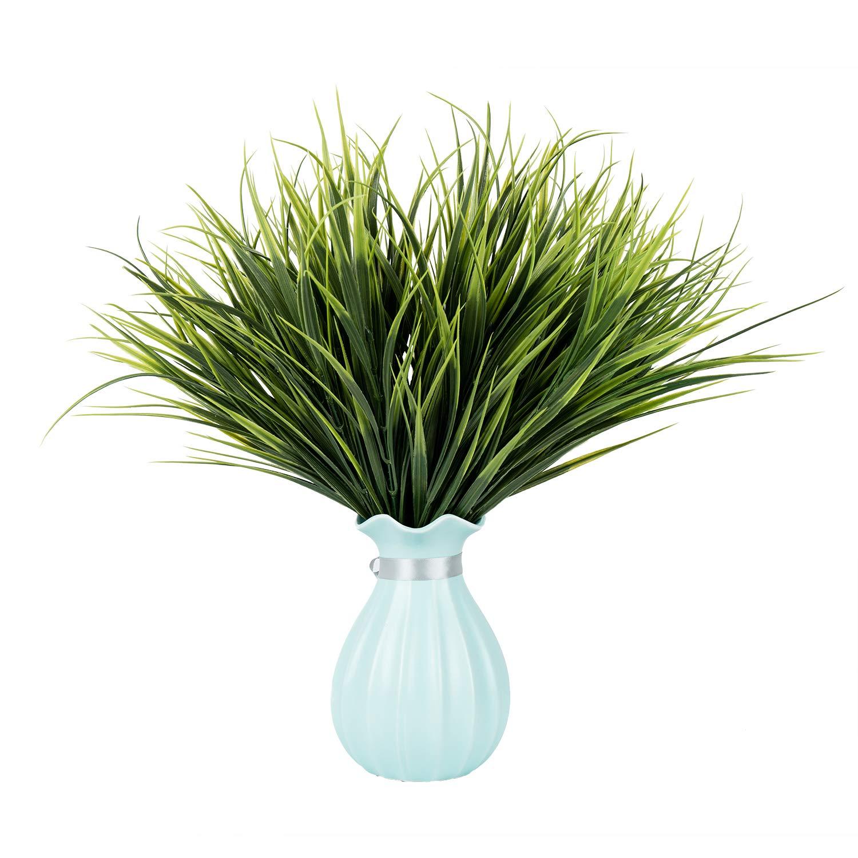 Amazon Com U Artlines 12pcs 19 3 Artificial Plastic Wheat Grass