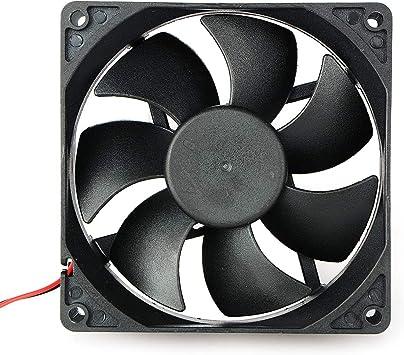 Movilideas Ventilador de Refrigeración de 24 voltios (9025 24V ...