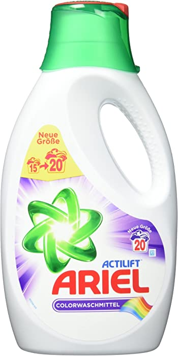 Ariel Liquid Detergent (20 Loads, 1100ml, Color)