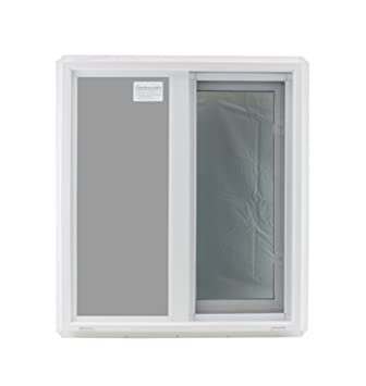 Window 24 X 27 Double Pane Tempered Glass Low E Pvc Frame