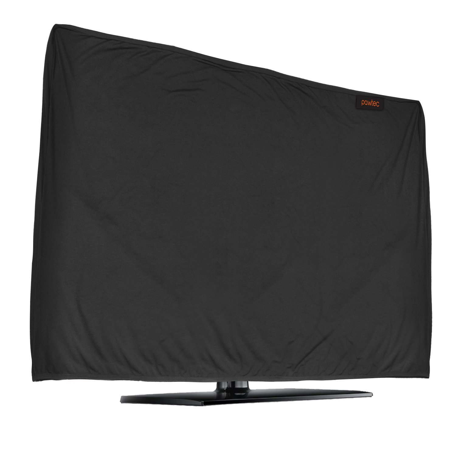 Lightweight Flat Screen TV Cover - Full Body Stretchable Lycra Protection Sleeve - Fits 47-50'' LED, OLED, LCD, and Plasma Televisions (47-50 inch) by Pawtec