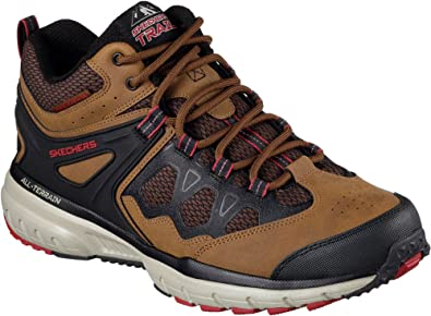 c24f3c5178a8 Skechers Geo Trek Sequencer Mens Mid Top Sneakers Brown Black 9.5 ...