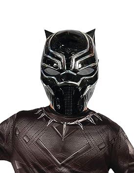 Marvel - Máscara de Black Panther (Pantera Negra), Talla única infantil (Rubies 39218)