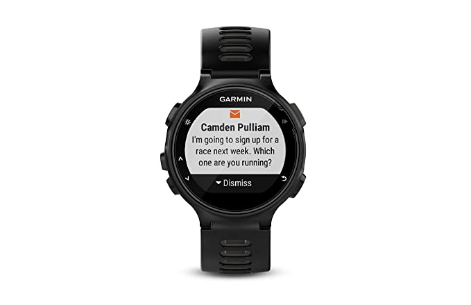bff3135c287 Amazon.com  Garmin Forerunner 735XT - Black   Gray  Cell Phones    Accessories