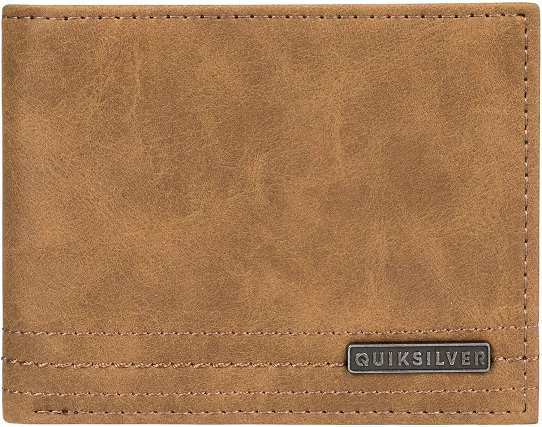 Quiksilver Cartera de Doble Hoja para Hombre Stitchy Wallet - Sintético