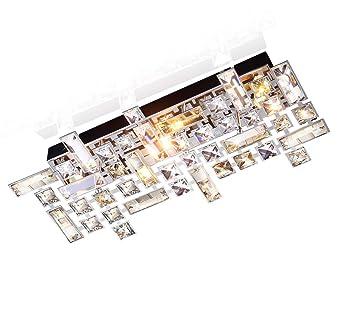 Led Plafonnier Cristal Désign Verre Lampe Applique Murale Led Lustre