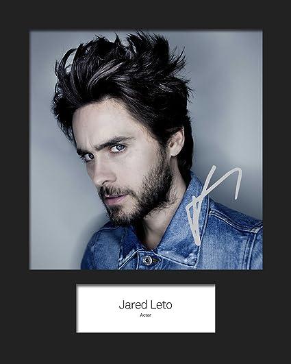 FRAME SMART Jared LETO #5   Signierter Fotodruck   10x8