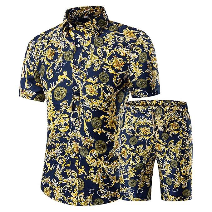 Amazon.com: Chándal de manga corta y pantalones cortos para ...